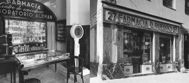 La historia de la Farmacia Puerto se remonta al 1924
